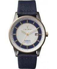 Triwa NIST104-CL060712 Duke Niben Navy Leather Strap Watch
