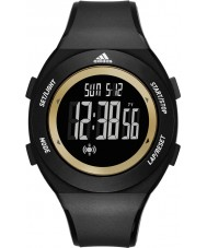 Adidas Performance ADP3208 Mens Sprung Basic Black Matte Silicone Strap Watch
