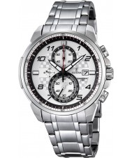 Festina F6842-2 Mens Chronograph Silver Steel Chronograph Watch