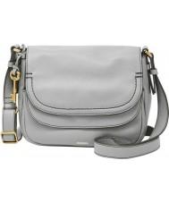 Fossil ZB6840088 Ladies Peyton Iron Double Flap Bag