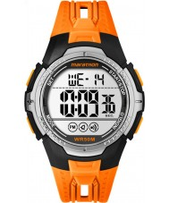 Timex TW5M06800 Mens Marathon Orange Resin Strap Watch