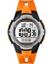 Timex TW5M06800 Mens Marathon Orange Resin Strap Watch