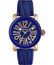 Pocket PK2012 Ladies Rond Classique Medio Blue Watch