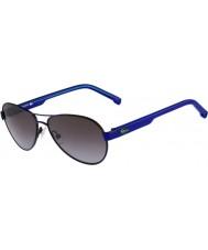 Lacoste Kids L3103S Black Blue Sunglasses