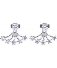 Diamonfire E5615 Ladies Brilliant Earrings