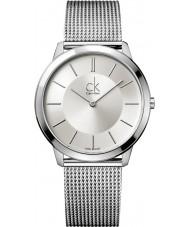 Calvin Klein K3M21126 Mens Minimal Silver Watch