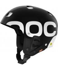 POC PO-11182S Receptor Backcountry MiPS Uranium Black Ski Helmet - 53-54cm
