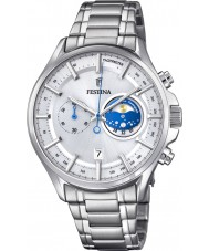 Festina F6852-1 Mens Silver Chronograph Watch