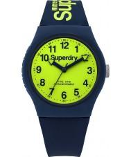 Superdry SYG164UN Urban Navy Silicone Strap Watch