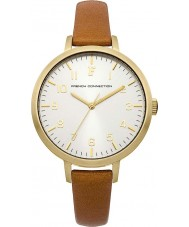 French Connection FC1248T Ladies Camel Leather Strap Watch