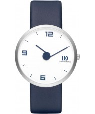 Danish Design Q22Q1115 Mens Blue Leather Strap Watch