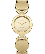 Fiorelli FO001GM Ladies Gold Plated Padlock Links Style Bracelet Watch