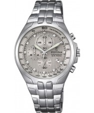 Festina F6843-2 Mens Chronograph Silver Steel Chronograph Watch