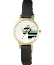 Radley RY2406 Ladies Willow Black Leather Strap Watch