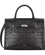 Fiorelli FH8639-BLACKCROC Ladies Harlow Black Croc Tote Bag