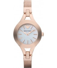 Emporio Armani AR7329 Ladies Pearl and Rose Gold Dress Watch