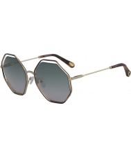 Chloe Ladies CE132S 240 58 Poppy Sunglasses