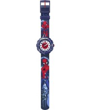 Flik Flak FLSP012 Boys Spider Man in Action Watch
