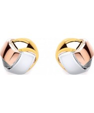 Purity 925 PUR0505-2 Ladies Knot Multicolour Sterling Silver Stud Earrings