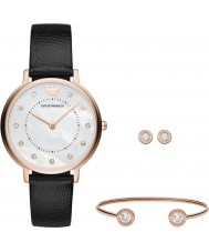 Emporio Armani AR80011 Ladies Dress Watch Gift Set