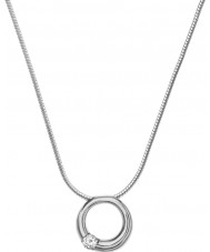 Skagen SKJ0308040 Ladies Elin Pure Circle Silver Steel Necklace
