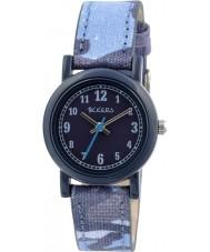 Tikkers TK0106 Boys Blue Camo Watch