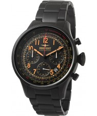 Dogfight DF0049 Mens Wingman Black IP Steel Chronograph Watch