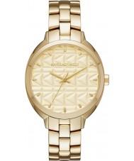 Karl Lagerfeld KL4605 Ladies Kuilted Gold Plated Bracelet Watch