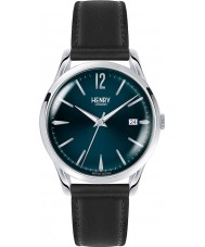 Henry London HL39-S-0031 Knightsbridge Black Leather Strap Watch