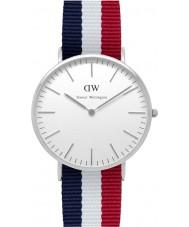 Daniel Wellington DW00100017 Mens Classic 40mm Cambridge Silver Watch