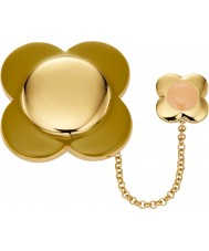 Orla Kiely D341 Ladies Daisy Brooch