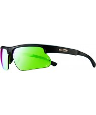 Revo RE1025 Cusp S Black Green - Green Water Polarized Sunglasses