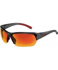 Bolle Ransom Satin Crystal Grey Polarized TNS Fire Sunglasses