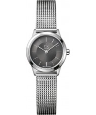 Calvin Klein K3M23124 Ladies Minimal Grey Silver Watch