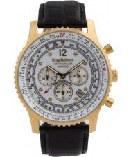 Krug Baümen 600202DS Mens Air Traveller Diamond Watch