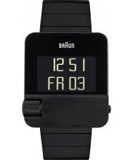 Braun BN0106BKBTG Mens Prestige Black Steel Bracelet Watch