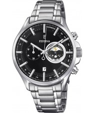 Festina F6852-3 Mens Silver Chronograph Watch