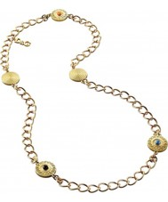 Chriselli D and G Ladies Gold Plated Belle Necklace