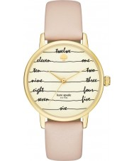 Kate Spade New York KSW1059 Ladies Metro Vachetta Leather Strap Watch