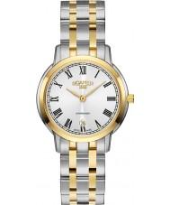 Roamer 515811-47-22-50 Ladies Superslender Two Tone Steel Bracelet Watch