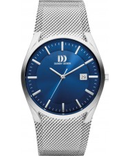 Danish Design Q68Q1111 Mens Silver Steel Mesh Bracelet Watch