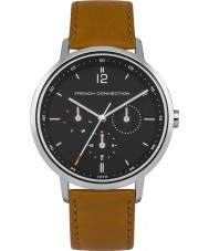 French Connection FC1276UT Mens Bronze Leather Strap Watch