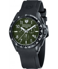 Swiss Eagle SE-9061-03 Mens Field Tactical Black Chronograph Watch