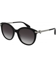 Alexander McQueen Ladies AM0083S 001 Sunglasses