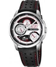 Lotus 18241-1 Mens Marc Marquez Black Leather Strap Watch