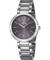 Festina F16936-2 Ladies Mademoiselle Silver Steel Bracelet Watch