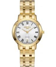 Roamer 515811-48-22-50 Ladies Superslender Gold Steel Bracelet Watch