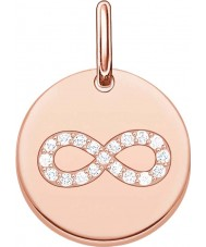Thomas Sabo LBPE0004-416-14 Ladies Love Bridge 18ct Rose Gold Plated Pendant