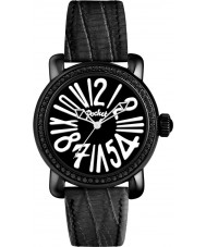 Pocket PK2018 Ladies Rond Crystal Medio Black Watch