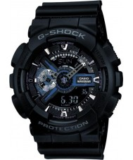 Casio GA-110-1BER Mens G-Shock Black Combi World Time Watch